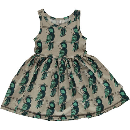 MAXOMORRA organic Sleeveless Dress Spin | Parrot