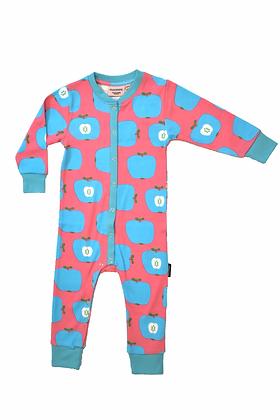 MOROMINI organic Baby Pyjamas | Apple Pink