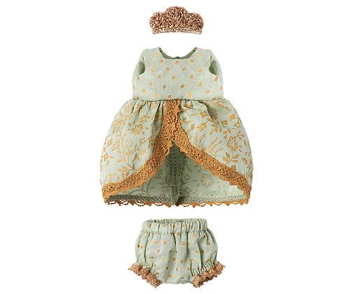MAILEG Micro & Mouse, Princess Dress | Mint