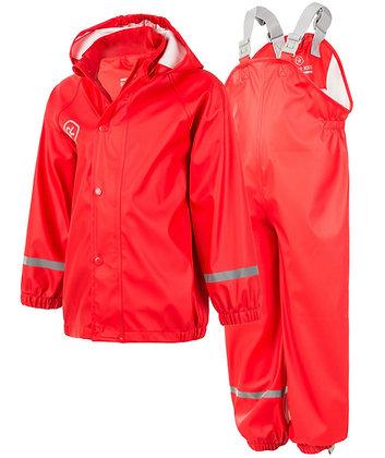 COLOR KIDS Taxi Waterproof Set | Racing Red