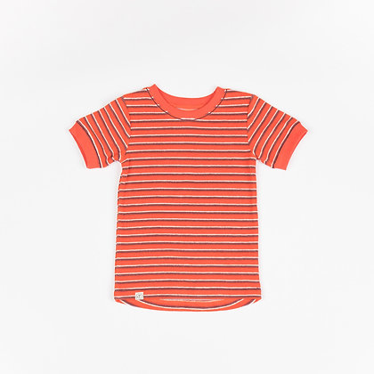 ALBA of Denmark Vesta T-Shirt | Fiesta Striped