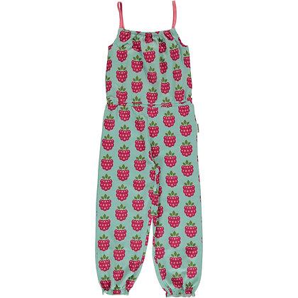 MAXOMORRA organic Long Jumpsuit | Raspberry