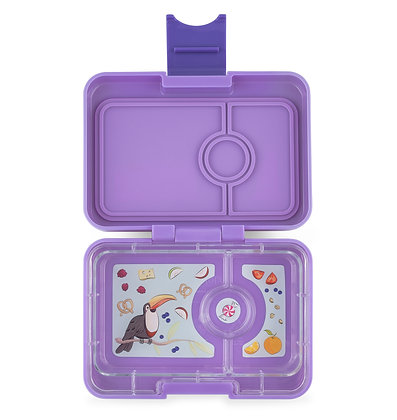 Yumbox MiniSnack lunchbox Dreamy Purple