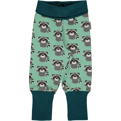 MAXOMORRA organic Rib Pants | Raccoon