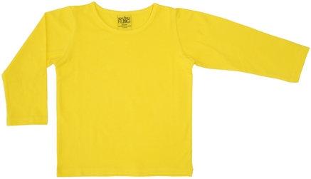 DUNS More Than a Fling organic Long Sleeve Top | Yellow