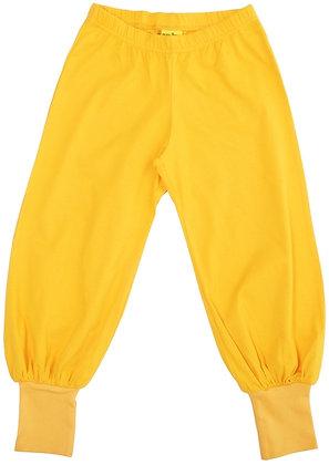 DUNS More Than a Fling organic Baggy Pants | Yellow