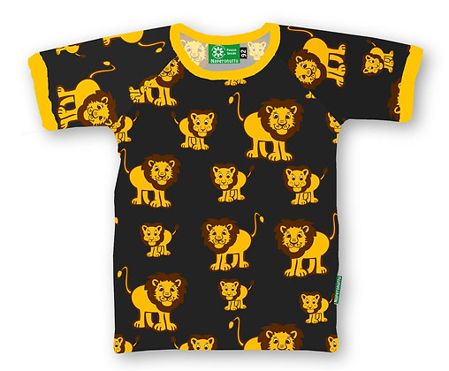 NAPERONUTTU organic Short Sleeve Top | Lion