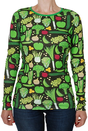 DUNS Sweden organic Adult Long Sleeve Top   Eat Your Greens