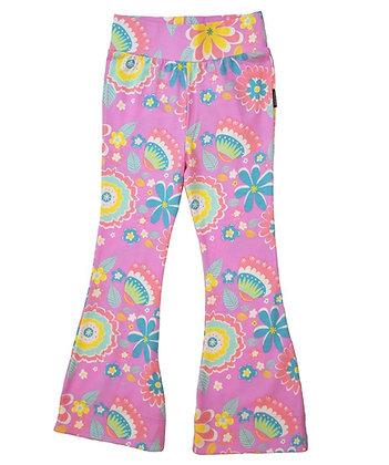 MOROMINI organic 70's Pants | Mumbai Flower Market Pink
