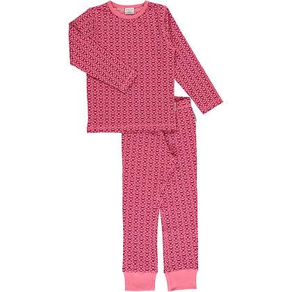 MAXOMORRA organic Pyjama Set Long Sleeve | Ladybug