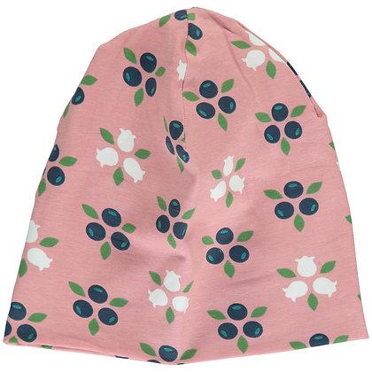 MAXOMORRA organic Hat (Velour Lining)   Blueberry Blossom