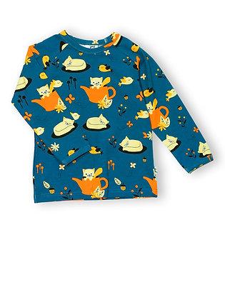 JNY organic Long Sleeve Top | Autumn Cat