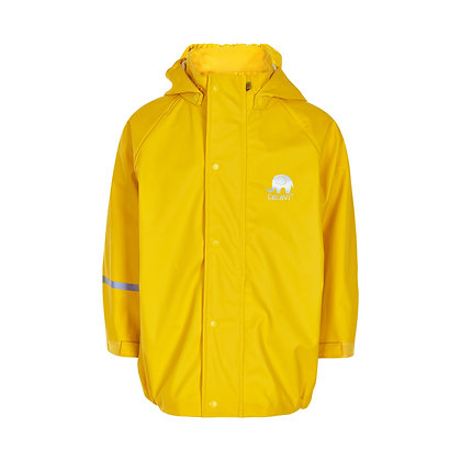 CeLaVi Basic Rainwear Jacket   Yellow