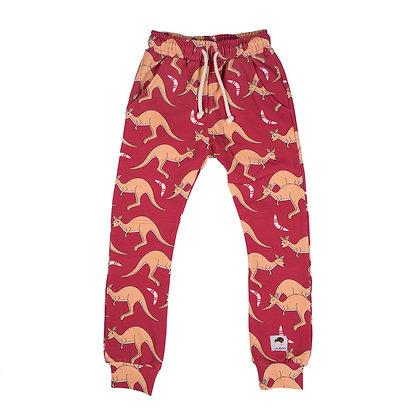 MULLIDO organic Trousers   Red Kangaroo