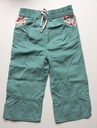 DPAM turquoise owl trousers | 23 months