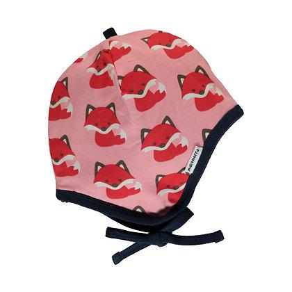 MAXOMORRA organic Helmet Hat (Velour Lining) | Fox