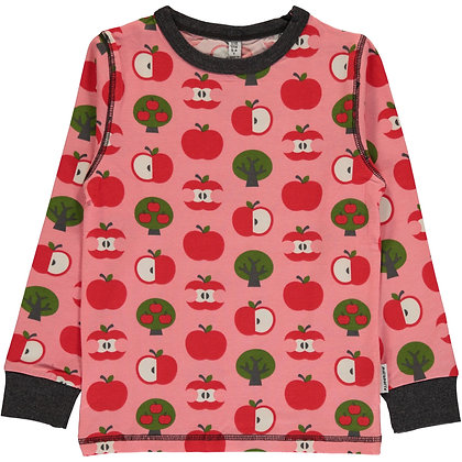 MAXOMORRA organic Long Sleeve Top | Apple