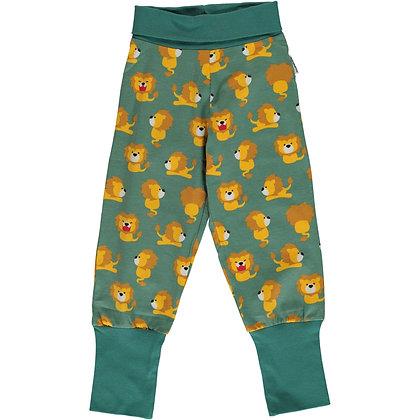 MAXOMORRA organic Rib Pants | Lion