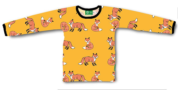 NAPERONUTTU organic Long Sleeve Top | Fox