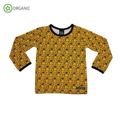 VILLERVALLA organic Long Sleeve Top | Tiger