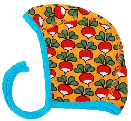 DUNS Sweden organic Bonnet Hat Radish | Mustard Yellow