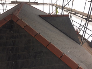 Example of our latest work - using a dry   ridge system