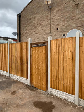 Fencing and Door