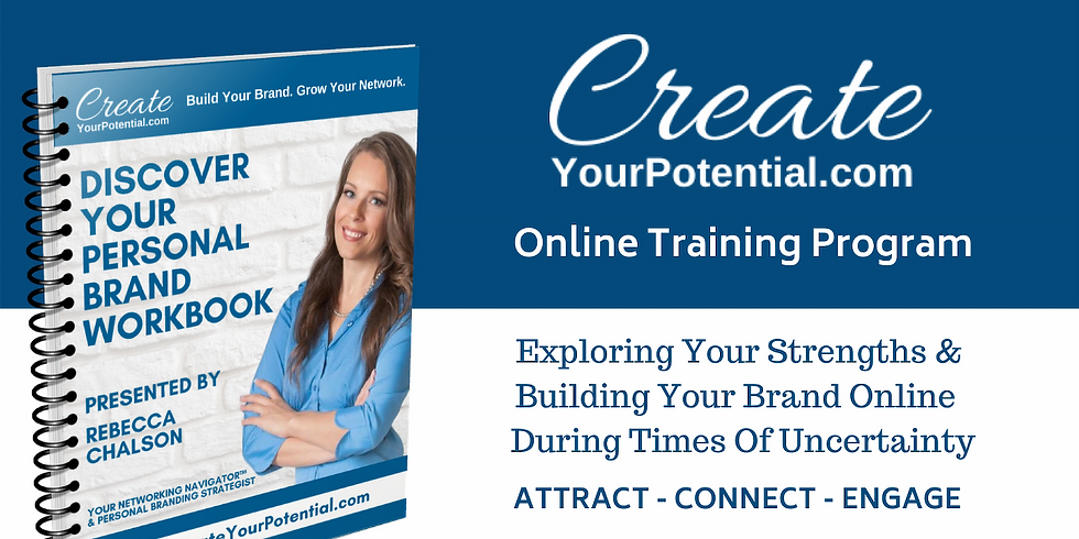 FREE VIRTUAL TRAINING - What Is Your Networking Personality?
