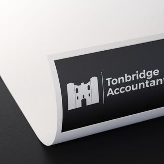 paper letterhead logo for tonbridge accountants
