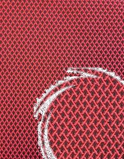 Рогожка рис 1060/02 (красный)