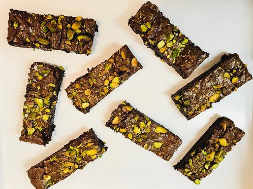 Pistachio & Sea Salt Brownies (Box of 8)