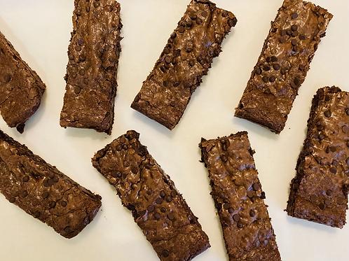 Chocolate Chip Brownies (Box of 8)