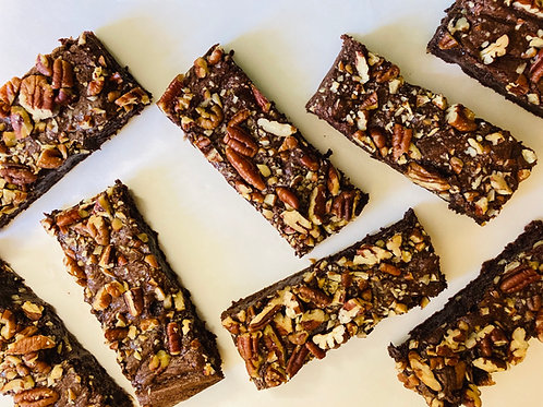 Pecan Brownies (Box of 8)