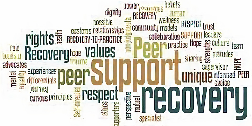 Continuing Education (2CEU's) Peer Advocacy (1pm-3pm)