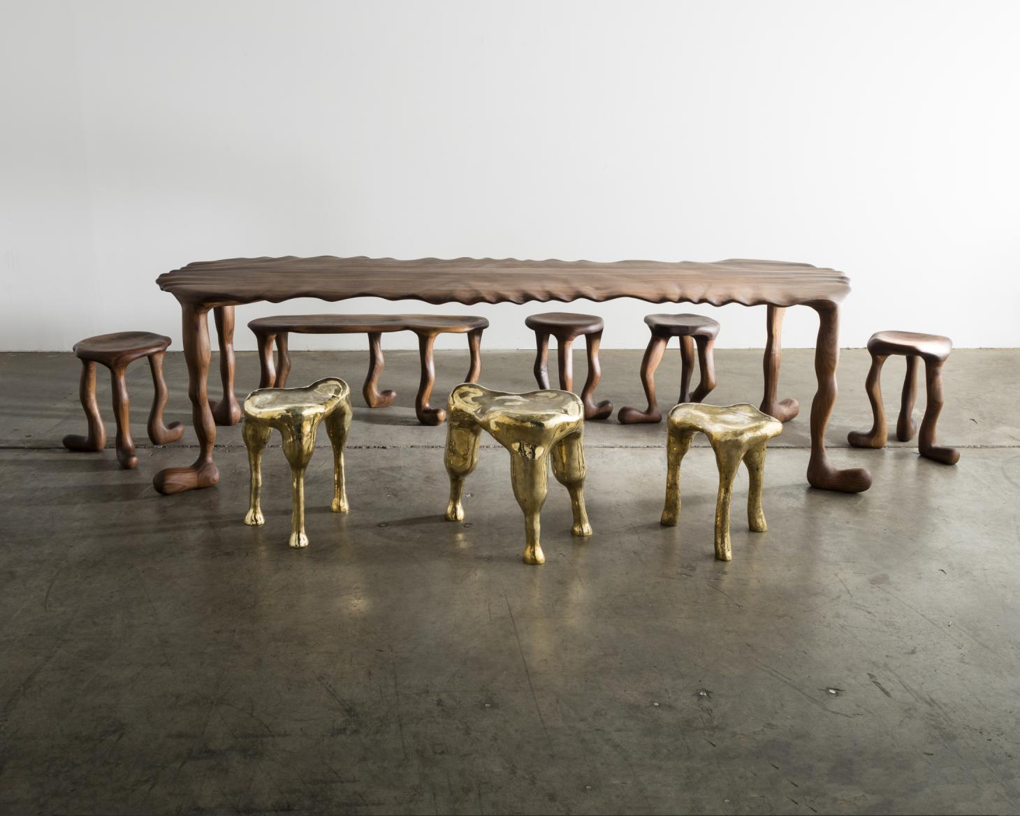 evelyn hex stools haas brothers