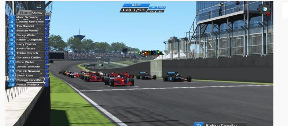 Grand Prix Nostalgie - Rückblick VFC-Brasilien Rennen 2019: Als Denny Weller alle überraschte
