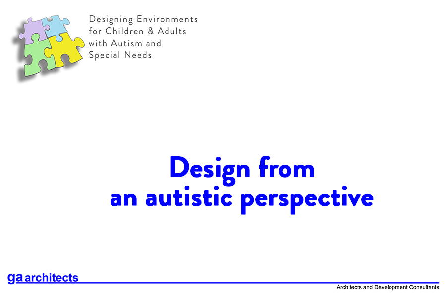 Design from an autistic perspective