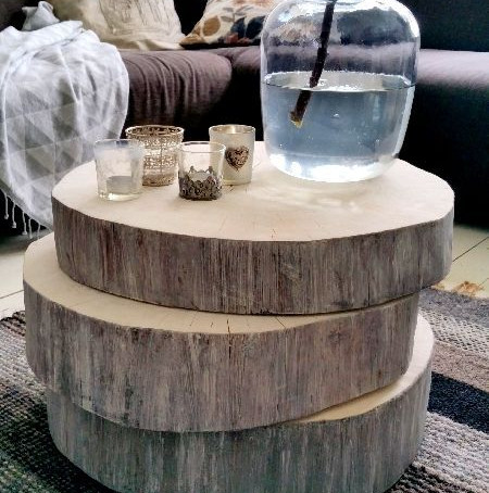 Une petite table faite maison ?