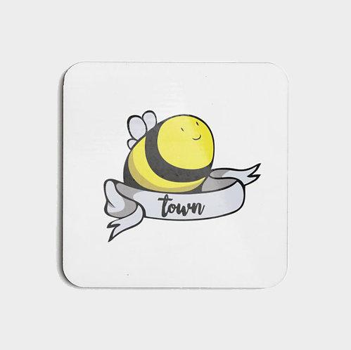 Bee Town - Hard Coasters