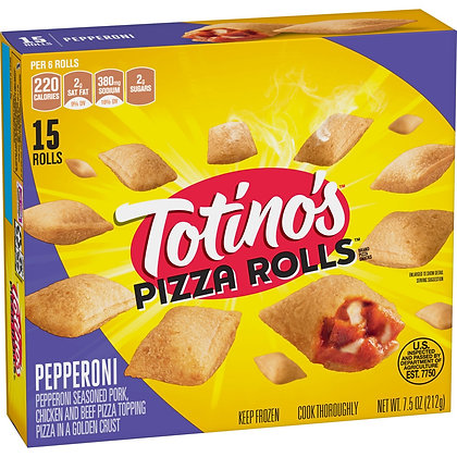 Totino's Pepperoni Frozen Pizza Rolls - 15ct/7.5oz