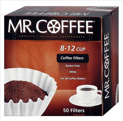 Mr. Coffee®  Filters 8 12 Cup 50 Filters