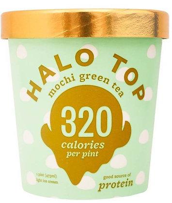 Halo Top Mochi Green Tea Ice Cream - 16oz