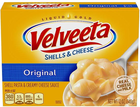 Kraft Velveeta Shells & Cheese Dinner Original 12oz