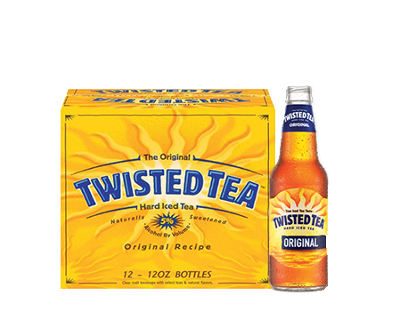 Twisted Tea® Original Hard Iced Tea - 12pk / 12oz Bottles