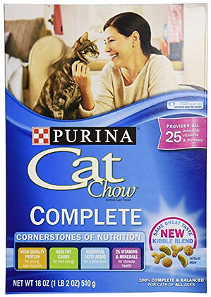 Purina® Cat Chow Complete Dry Cat Food 1lb Bag