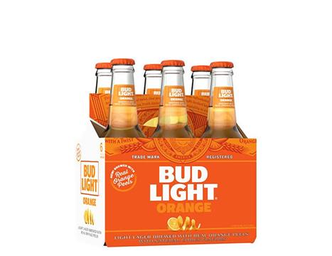 Bud Light® Orange, 6 pack, 12 fl oz bottles