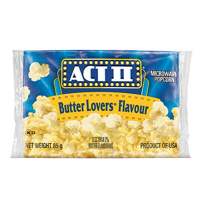 Act II Butter Lovers Single Popcorn