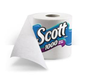 Scott 1000 Septic Safe Toilet Paper