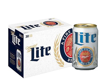 Miller Lite® Beer - 30pk / 12oz Cans