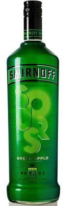 SMIRNOFF® Sours Green Apple Flavored Vodka 750ml Bottle